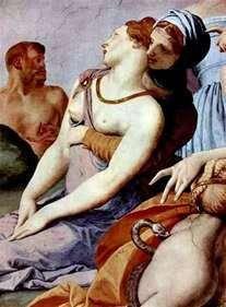 用青铜蛇(壁画)崇拜十字架   Agnolo Bronzino