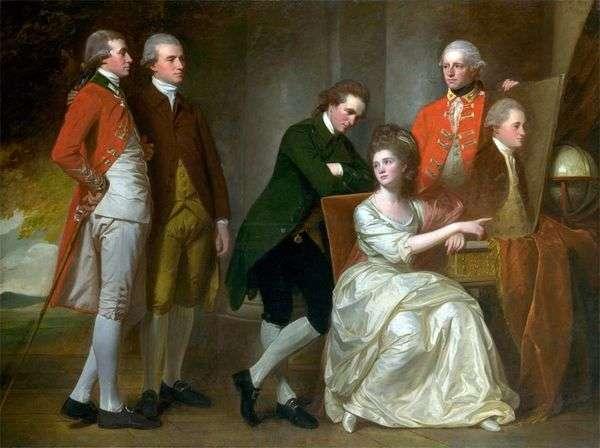 博蒙特家族的肖像   乔治 罗姆尼