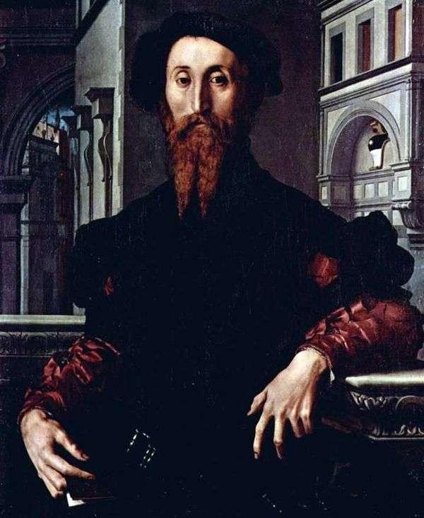 Bartolomeo Panchatica   Agnolo Bronzino的肖像