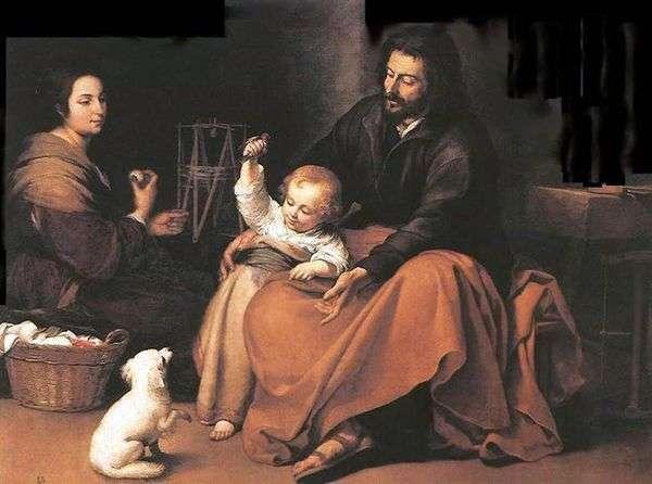 神圣家族与鸟   巴托洛梅埃斯特万穆里略