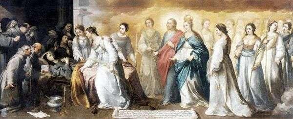 圣克拉拉之死   巴托洛梅埃斯特万穆里略