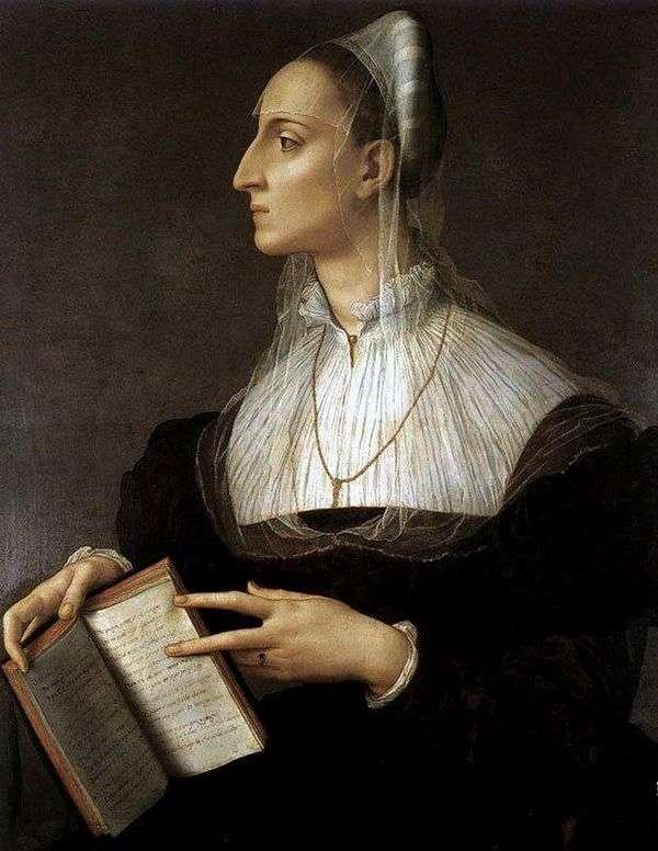 Laura Battiferi的肖像   Agnolo Bronzino