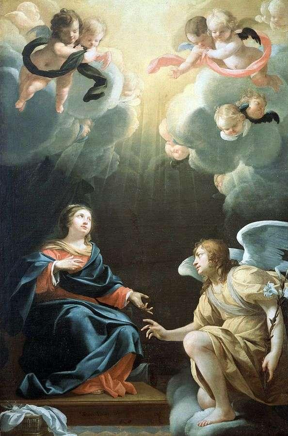 天使报喜   西蒙Vouet