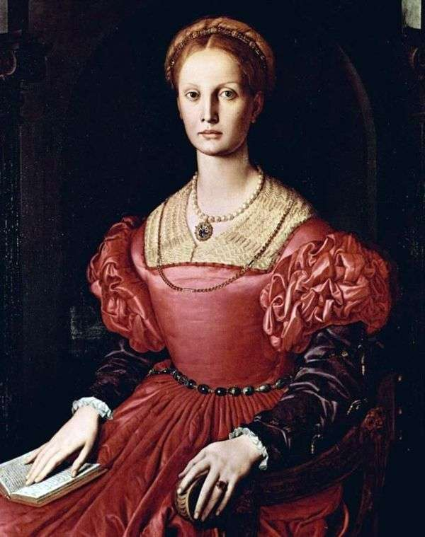 Lucretia Panchatica   Agnolo Bronzino的肖像