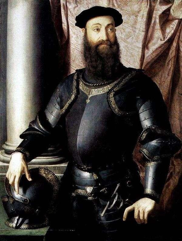 斯特凡诺科隆纳的肖像   Agnolo Bronzino