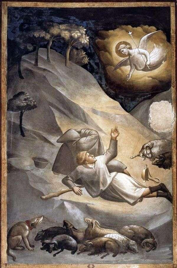向牧羊人传福音   Taddeo Gaddi