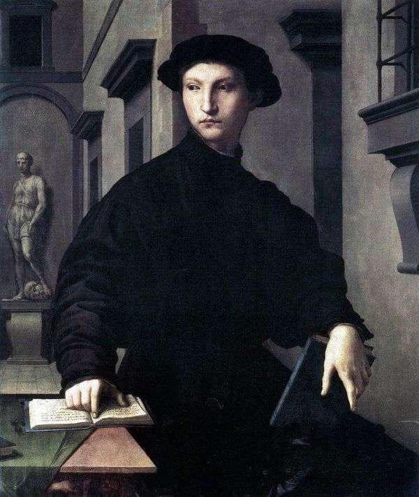 Ugolino Martelli   Agnolo Bronzino的肖像