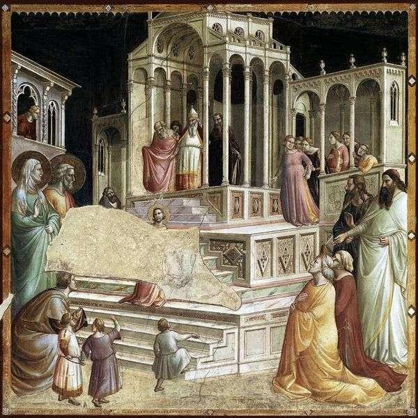 介绍玛丽到寺庙   Taddeo Gaddi