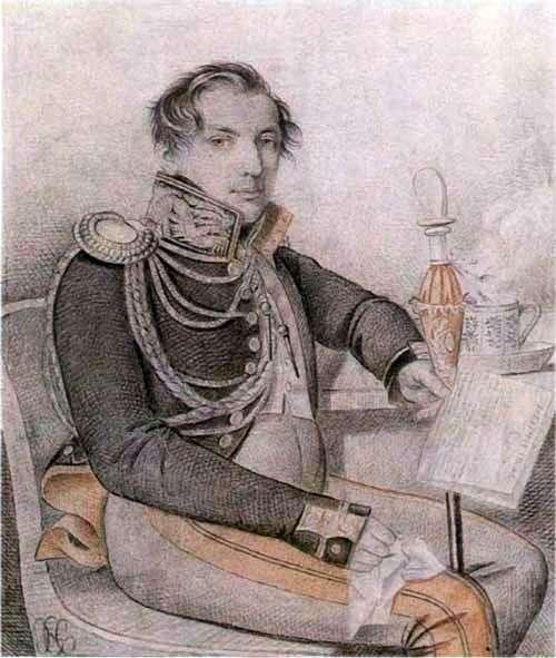 Konovnitsyn Peter Petrovich的肖像   Karl Gampeln