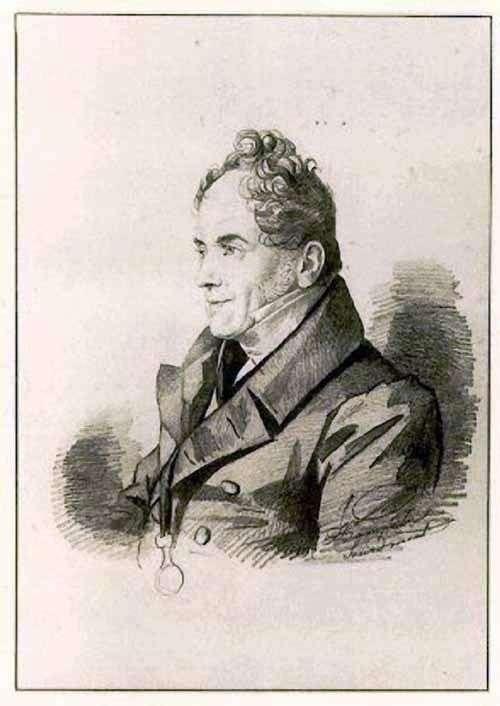 Kochubey Viktor Pavlovich   Karl Gampeln的肖像