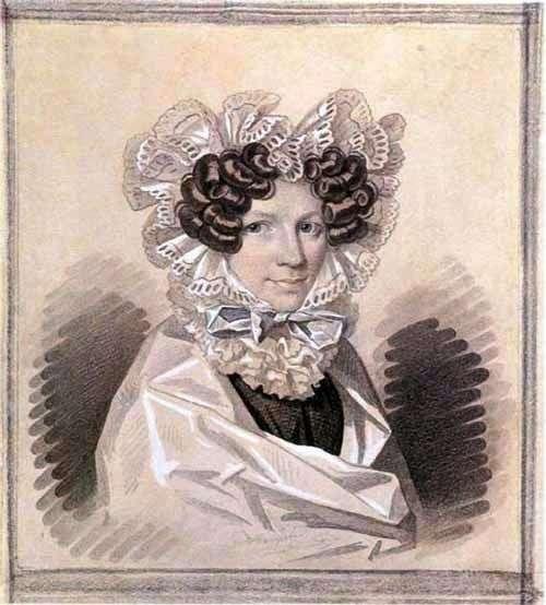 Sophia Kharitonovna Sage   Karl Gampeln的肖像