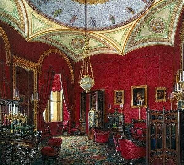 冬宫的房间类型。女皇亚历山德拉 费奥多罗夫娜的内阁   爱德华郝